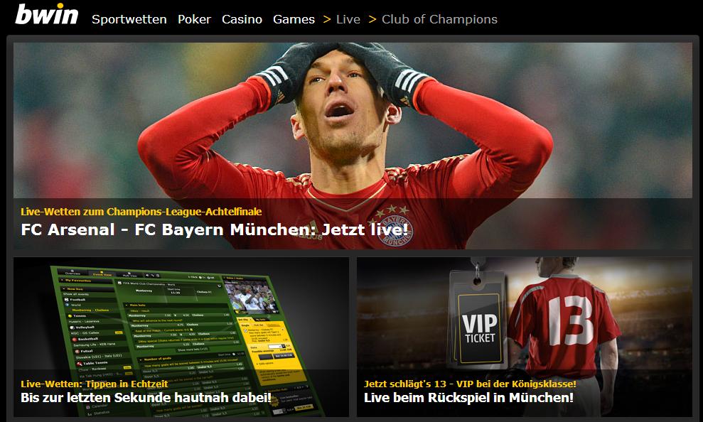 Bwin - Online Wetten, Poker, Online Casino & Games